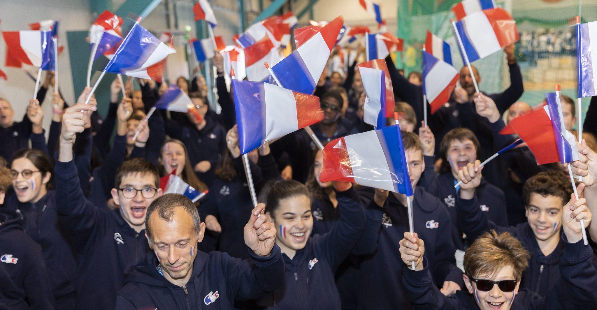 Cérémonie ouverture European Para youth games